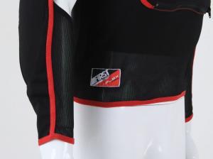 FREEDAY Veste de moto pour femme 3//4 imperm/éable avec protections doubl/ées XS Noire